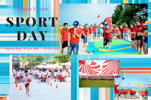 to chuc sport day - saigon events
